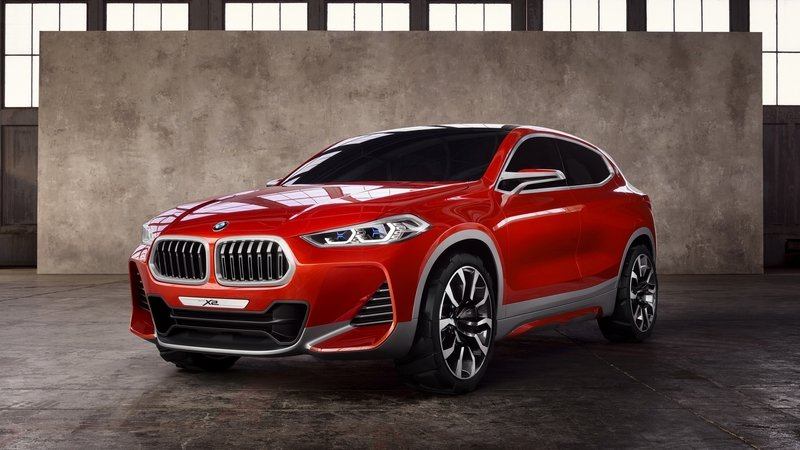 BMW X2 Arrives In Paris In Concept Form