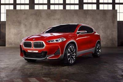 BMW X2 Arrives In Paris In Concept Form - image 690239