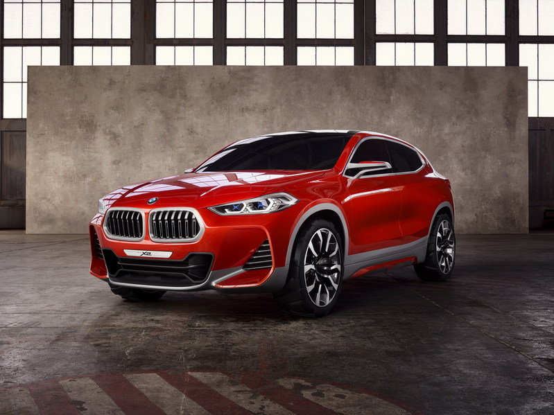 BMW X2 Arrives In Paris In Concept Form High Resolution Exterior - image 690239