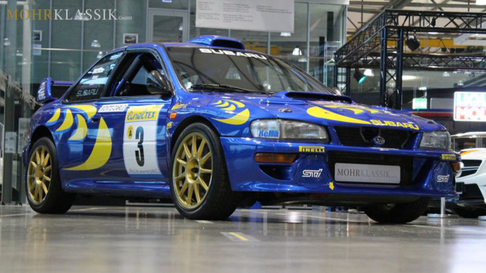 colin mcrae 39 s 1997 subaru wrc imprezza for sale news top speed. Black Bedroom Furniture Sets. Home Design Ideas