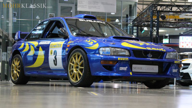 Colin McRae's 1997 Subaru WRC Imprezza For Sale