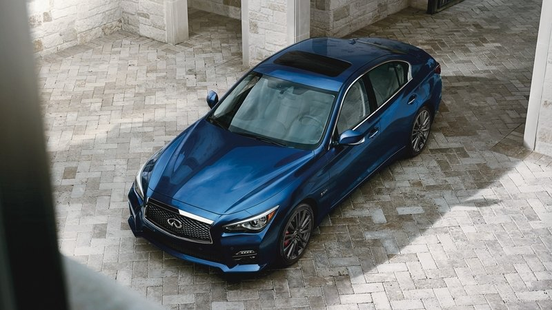 Cosmetic, Technology Upgrades Highlight 2017 Infiniti Q50