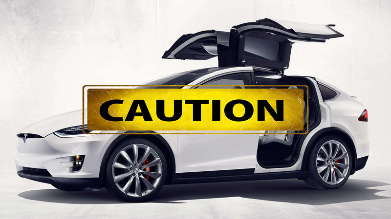Did Tesla Disable the Door Safety Sensors on the Model X?