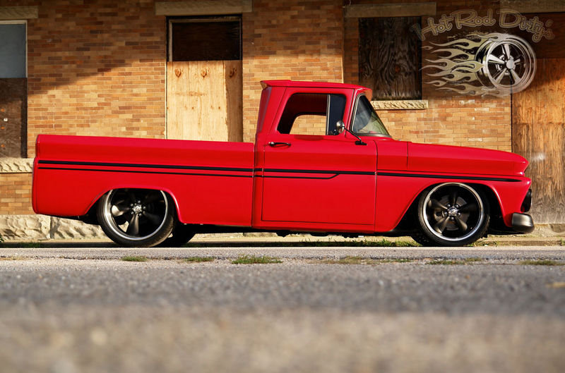 Ebay Find of the Day: 1962 Chevy C10 Patina Pro Touring Restomod