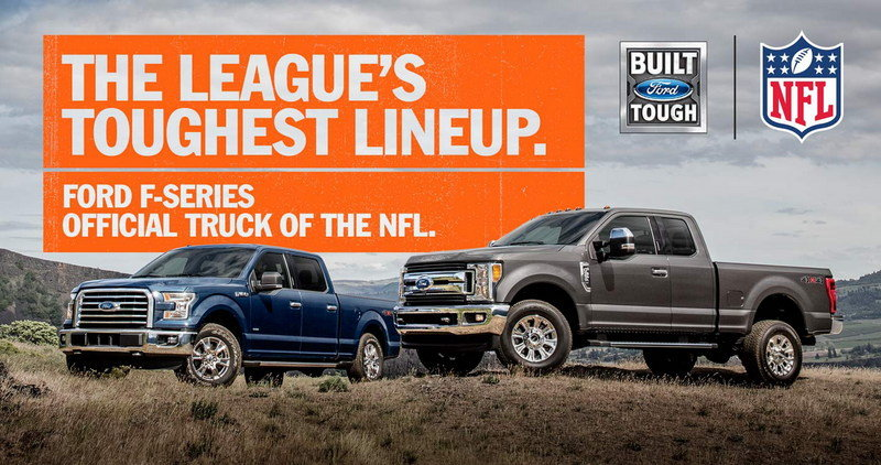 Ford F-Series Now Official Truck of the NFL