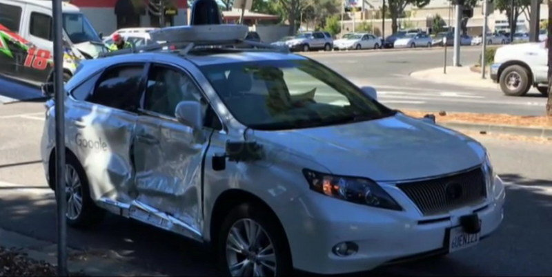 Google's Self-Driving Car Involved In Another Road Accident
