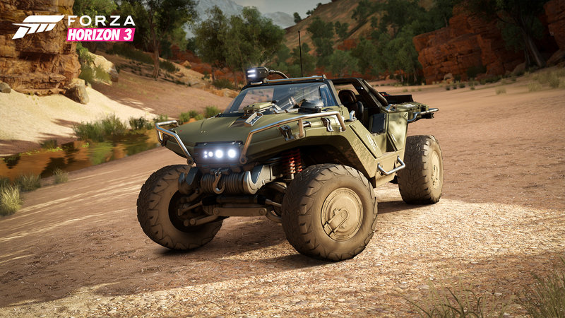 Halo's Warthog Buggy To Become Available in Forza Horizon 3