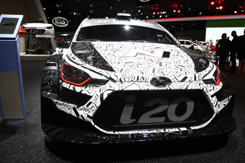 Hyundai i20 WRC High Resolution Exterior AutoShow - image 690586