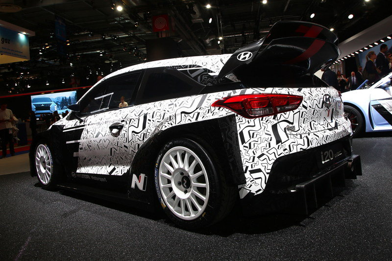 Hyundai i20 WRC High Resolution Exterior AutoShow - image 690588