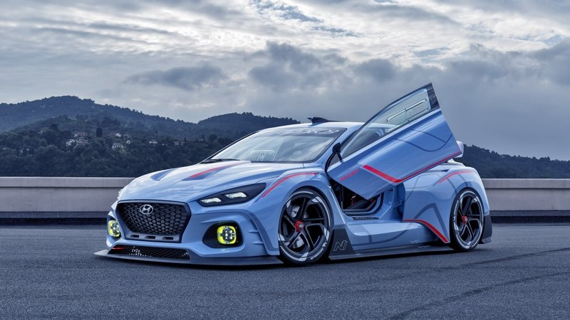 Hyundai Launches Aggressive-Looking, Race-Ready RN30 Concept in Paris