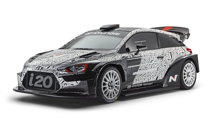 Hyundai Showcases Latest i20 WRC at Paris Motor Show