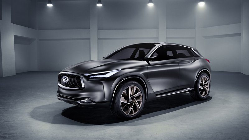 Infiniti QX Sport Inspiration Concept Shows Off Restyled Design