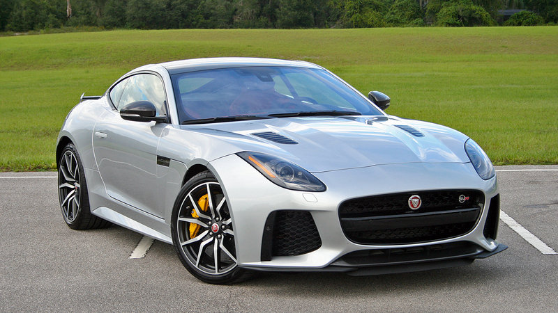 2017 Jaguar F-Type SVR – Driven