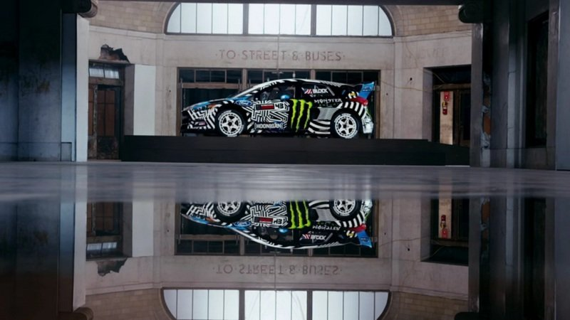 Ken Block Turns an Industrial Park into a Playground in Gymkhana NINE
