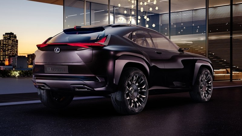 Rumor: Production-Ready Lexus UX Could Debut in March 2018
