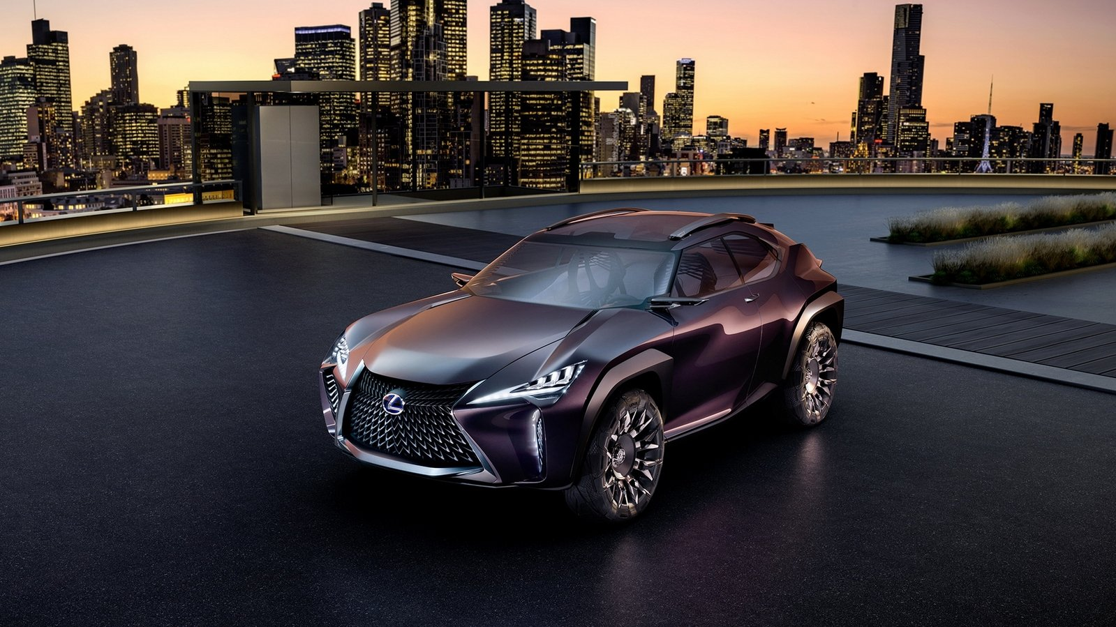 "New Lexus Suv >> Lexus UX Concept Showcases Vision For An ""Inside-Out ..."