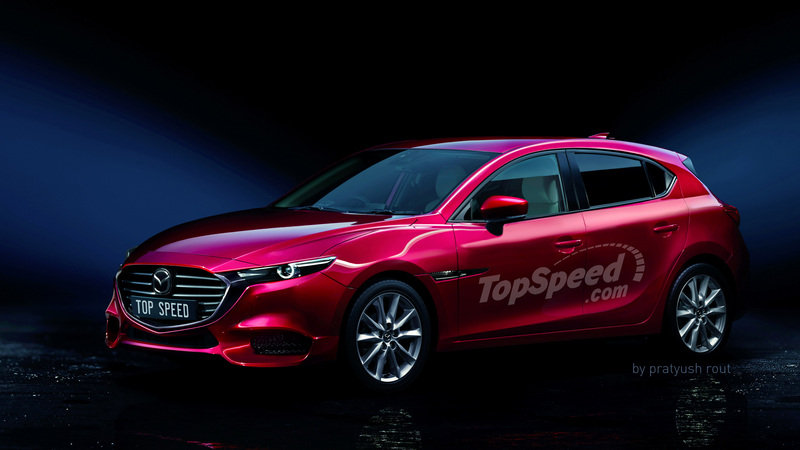 The New Mazda 3 is Inspired by the Kai Concept and Will Debut at the Los Angeles Auto Show!