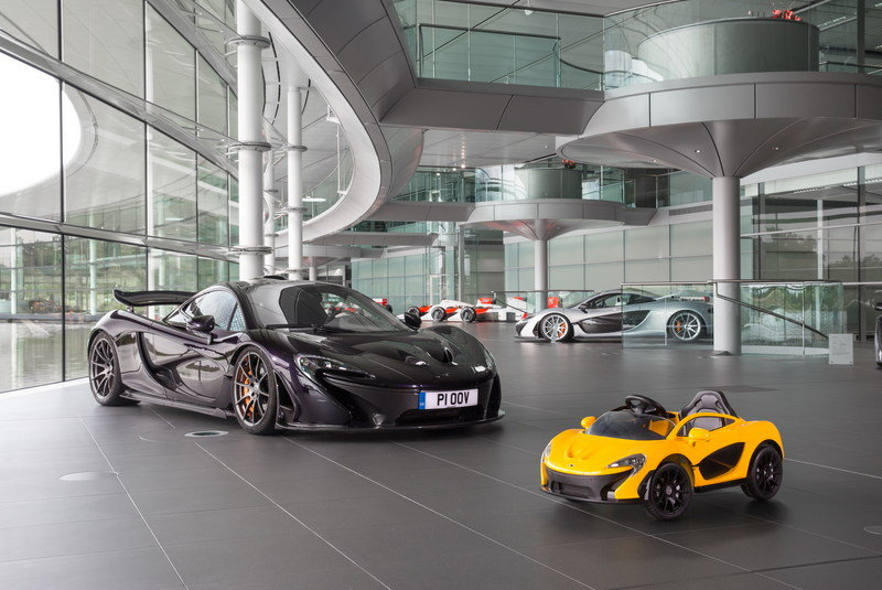 McLaren P1 Goes All-Electric; Kind Of