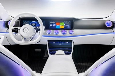 Mercedes and Microsoft Join Forces to Integrate your Office with your Car