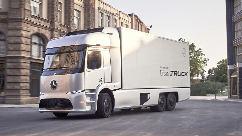 2016 Mercedes-Benz Urban eTruck