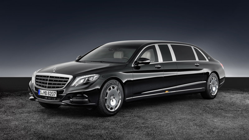 2017 Mercedes-Maybach S 600 Pullman Guard