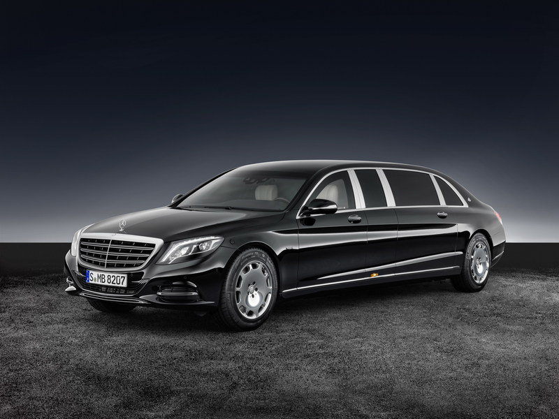 2017 Mercedes-Maybach S 600 Pullman Guard High Resolution Exterior - image 689073