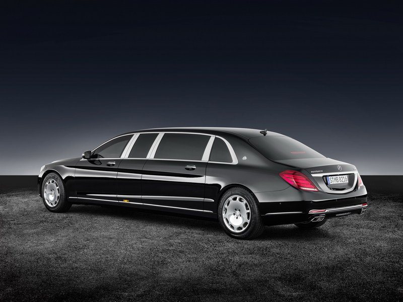 2017 Mercedes-Maybach S 600 Pullman Guard High Resolution Exterior - image 689074