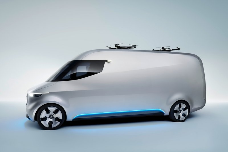 2016 Mercedes Vision Van High Resolution Exterior - image 687545