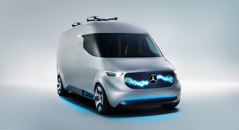 2016 Mercedes Vision Van High Resolution Exterior - image 687547