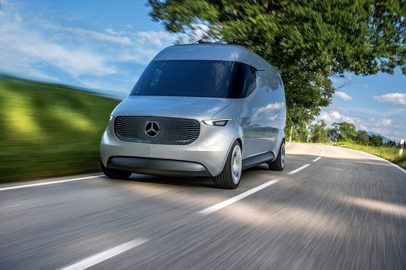2016 Mercedes Vision Van High Resolution Exterior - image 687540