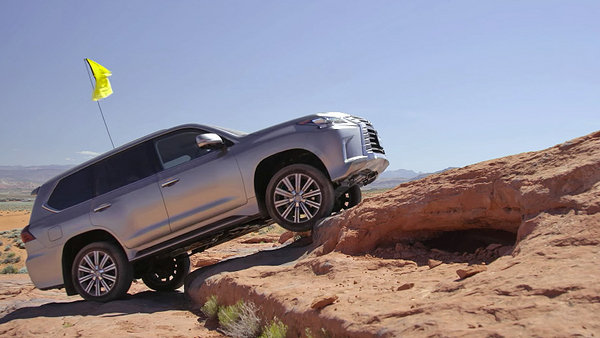 Top 10 Most Expensive Cars >> Motor Trend Thrashes The 2016 Lexus LX 570 Off-Road News ...