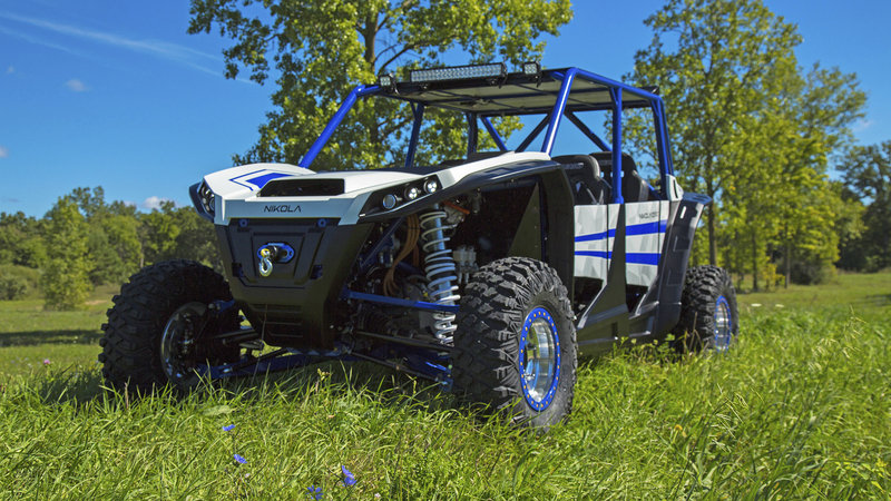 "Nikola Motor Company Debuts ""Zero"" All-Electric UTV"
