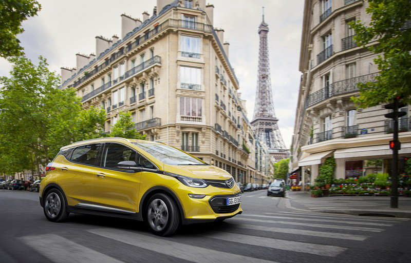 Opel Ampera-e Debuts In Paris With 310-Mile Range