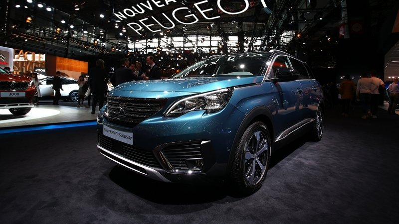 Peugeot Breaks New Ground With New 5008 SUV