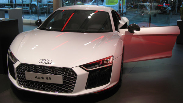 We Found the Audi R8 24H Edition Sitting Pretty In a Paris Showroom