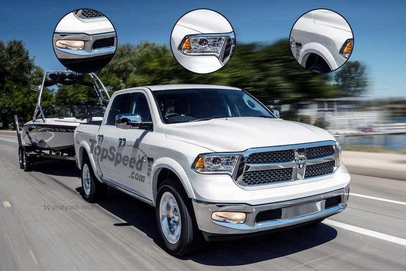 2019 Ram 1500 Exterior Exclusive Renderings Computer Renderings and Photoshop - image 689361