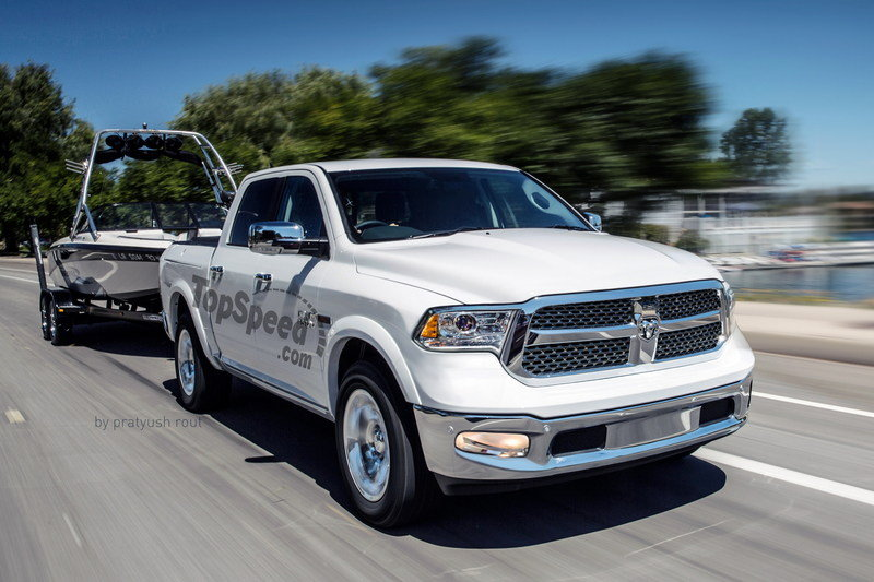 2019 Ram 1500 Exterior Exclusive Renderings Computer Renderings and Photoshop - image 689360