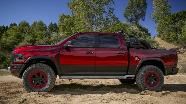 ram just debuted a hellcat powered raptor killer truck news top speed. Black Bedroom Furniture Sets. Home Design Ideas