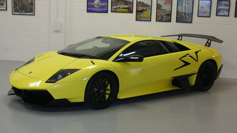 Rare 2009 Lamborghini Murcielago SV up for Sale