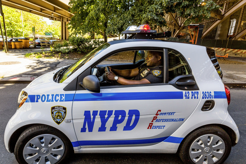 2016 Smart ForTwo NYPD Edition