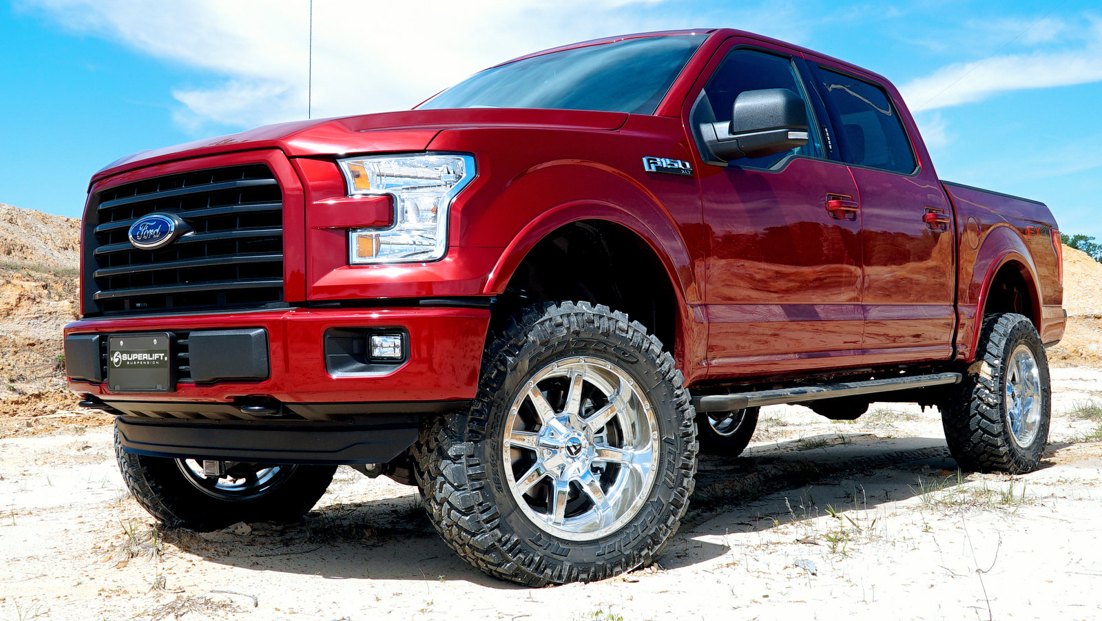 superlift now offering lift kits for the 2015 2016 ford f 150 picture 688282 truck news. Black Bedroom Furniture Sets. Home Design Ideas