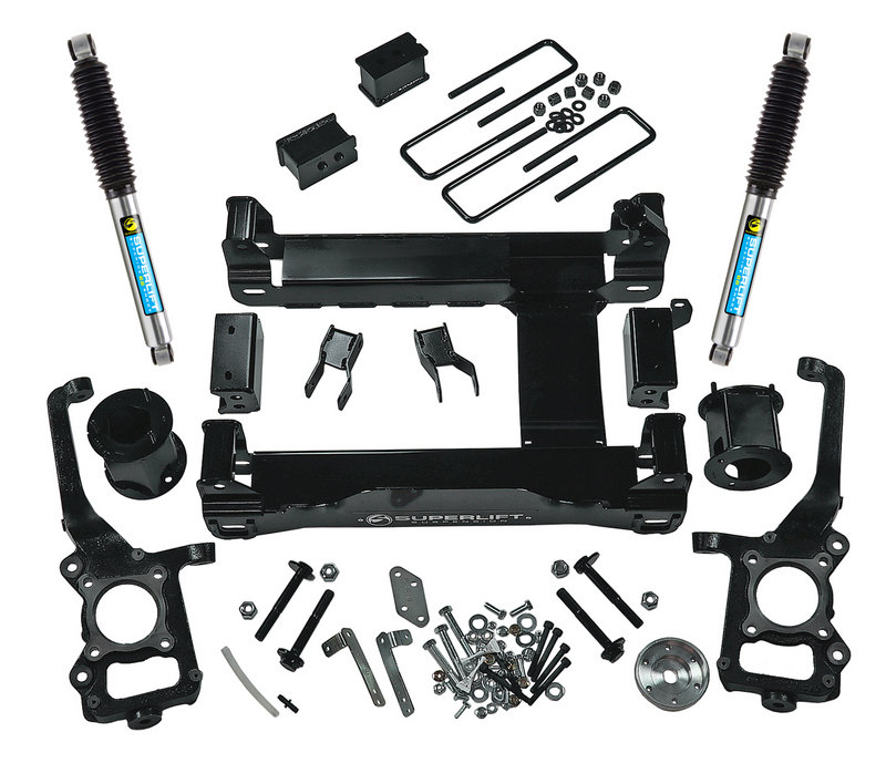Superlift Now Offering Lift Kits for the 2015 - 2016 Ford F-150