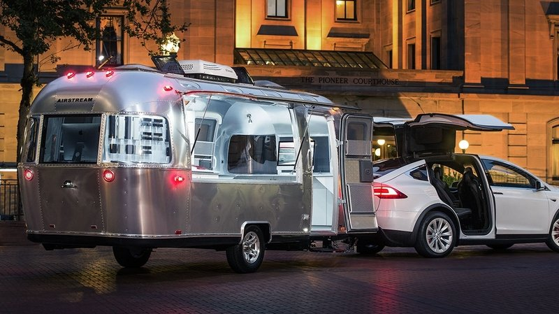 Tesla To Go On U.S. Roadshow With Airstream Design Studio