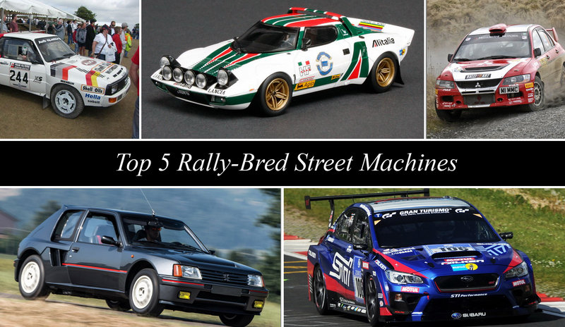 TopSpeed's Top 5 Rally-Bred Street Machines