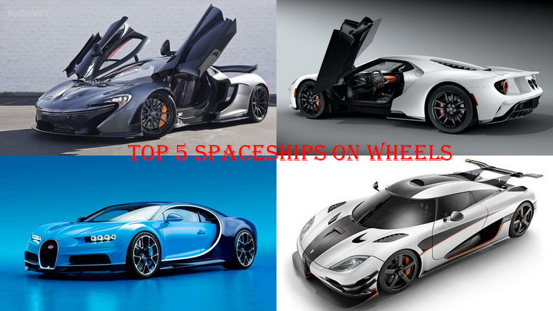 TopSpeed's Top 5 Spaceships On Wheels