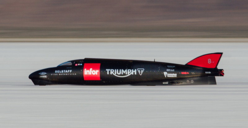 Triumph Crashes During Land Record Speed Attempt; Postpones Attempt Due To Course Conditions at Bonneville