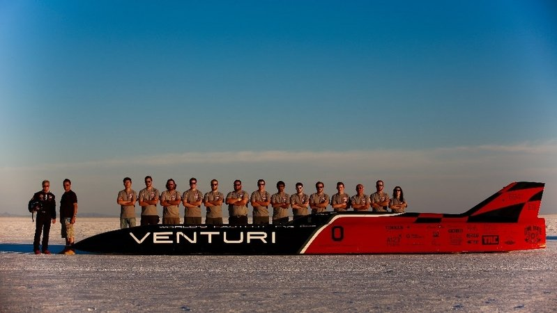 Venturi VBB-3 Becomes The World's Fastest Electric Car
