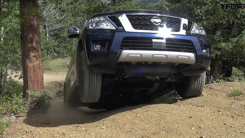 Watch the 2017 Nissan Armada Tackle the Trails: Video