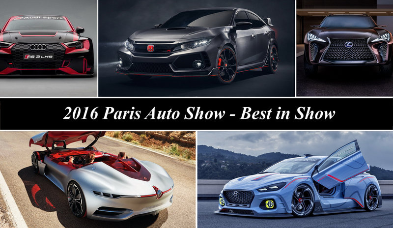 2016 Paris Motor Show – Best In Show