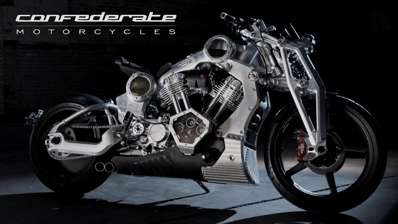 2016 Confederate Motorcycles P51 Combat Fighter